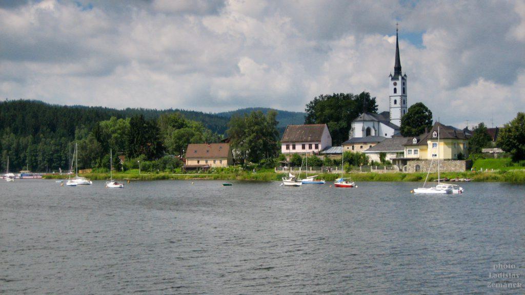 Lipno - přehrada - Frymburk