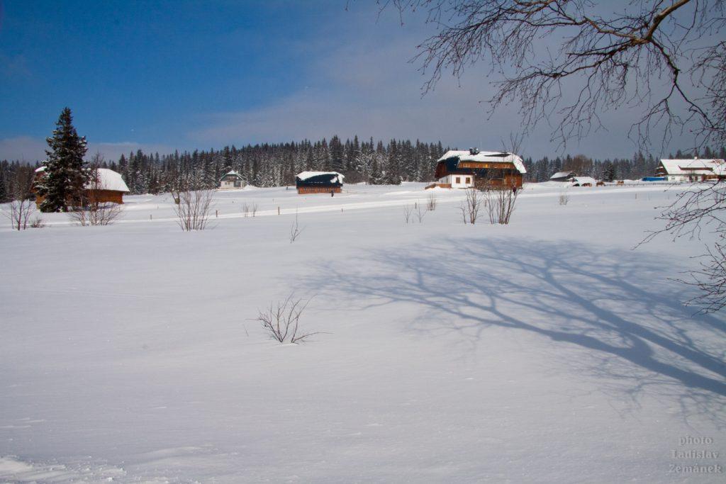 Filipova huť v zimě