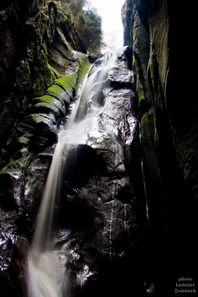 Velký Adršpašský vodopád