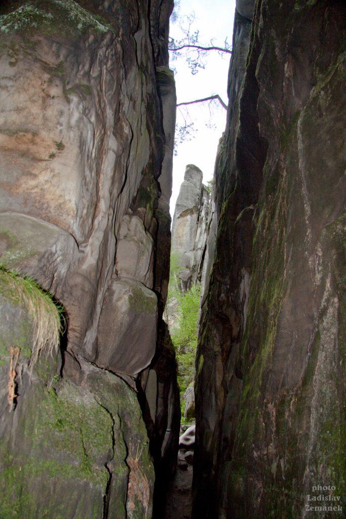 Stolová hora skalní město Ostaš