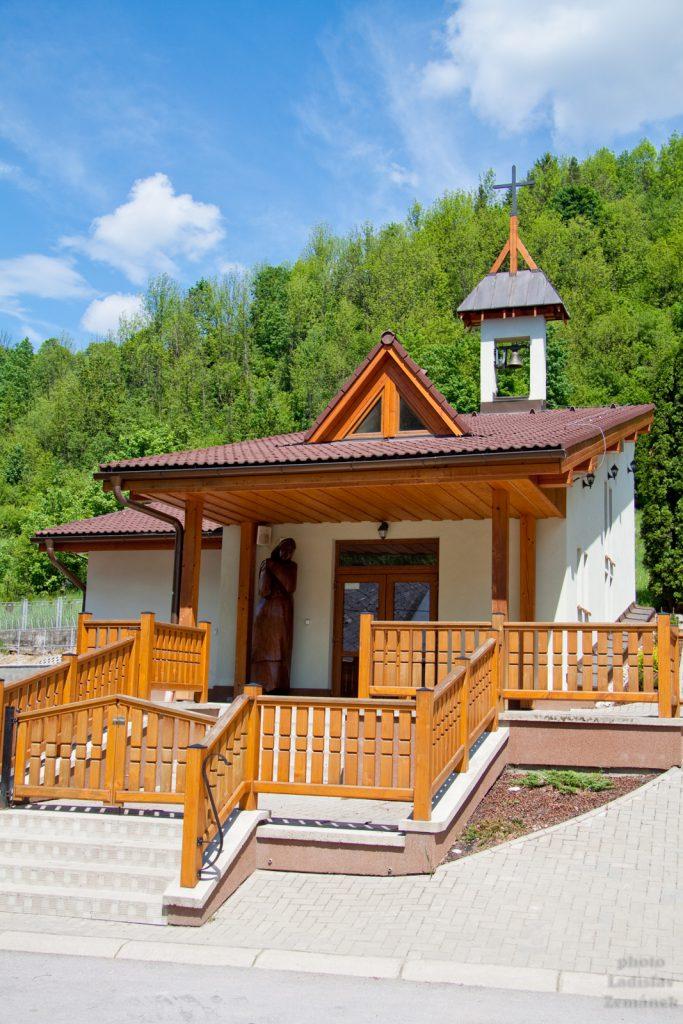 Pieniny - kostelík