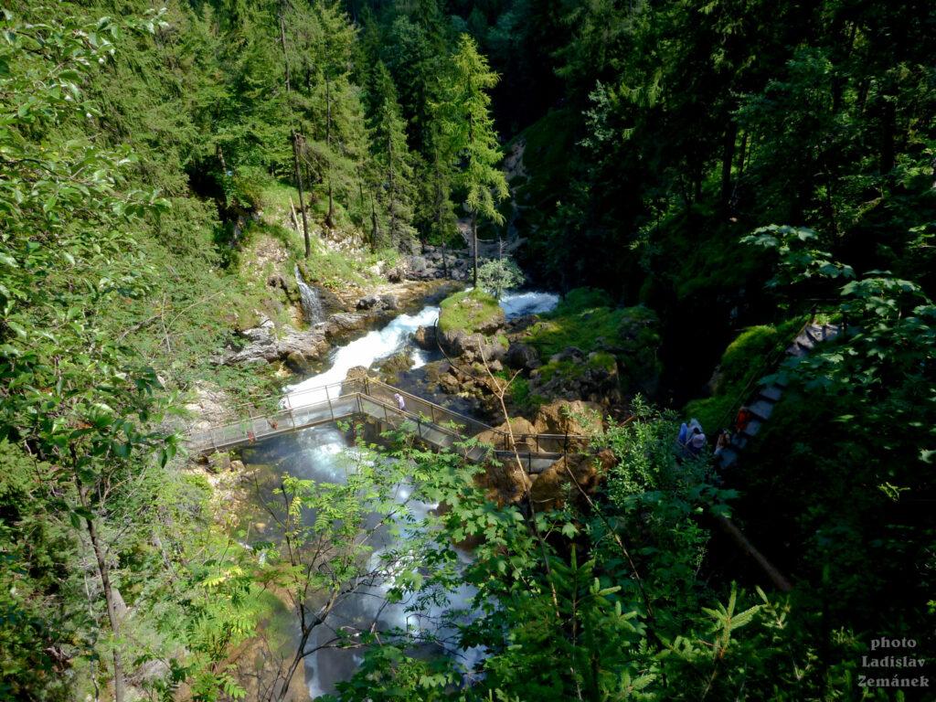 Vodopád Gollinger Wasserfall