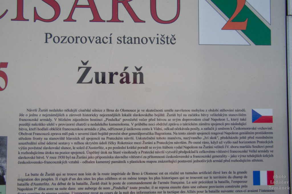 Slavkov - kopec Žuráň