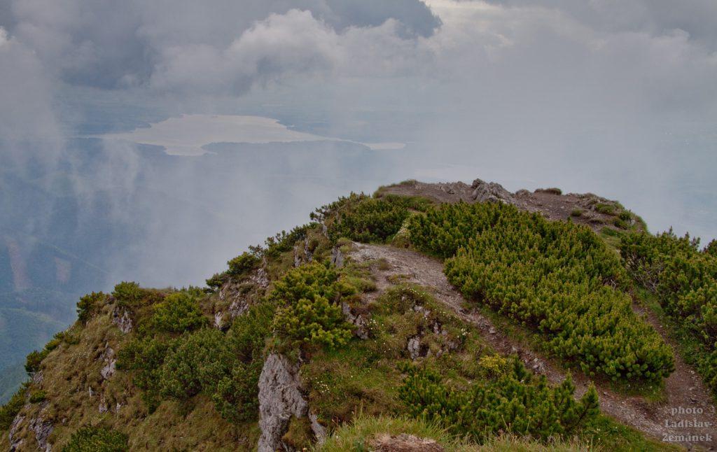 Velký Choč - výhled na Liptovskou Maru