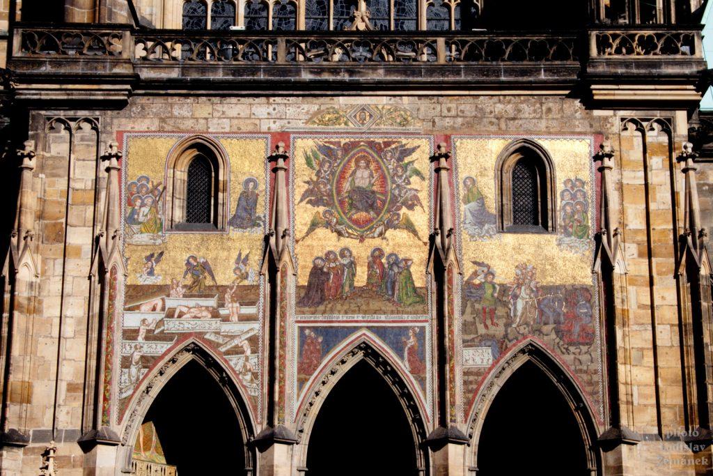 Chrám sv. Víta - Zlatá brána - mozaika