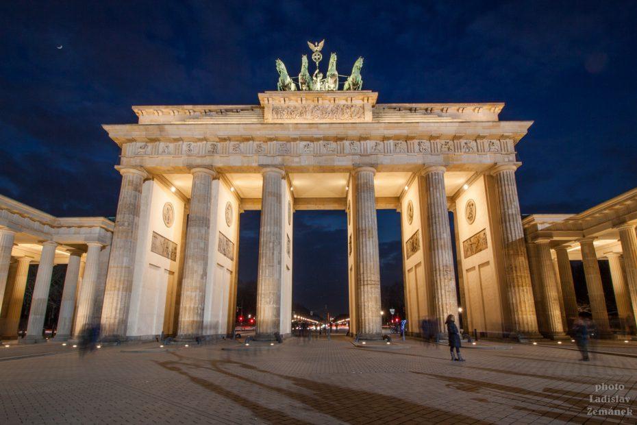 Berlínská zeď - Braniborská brána