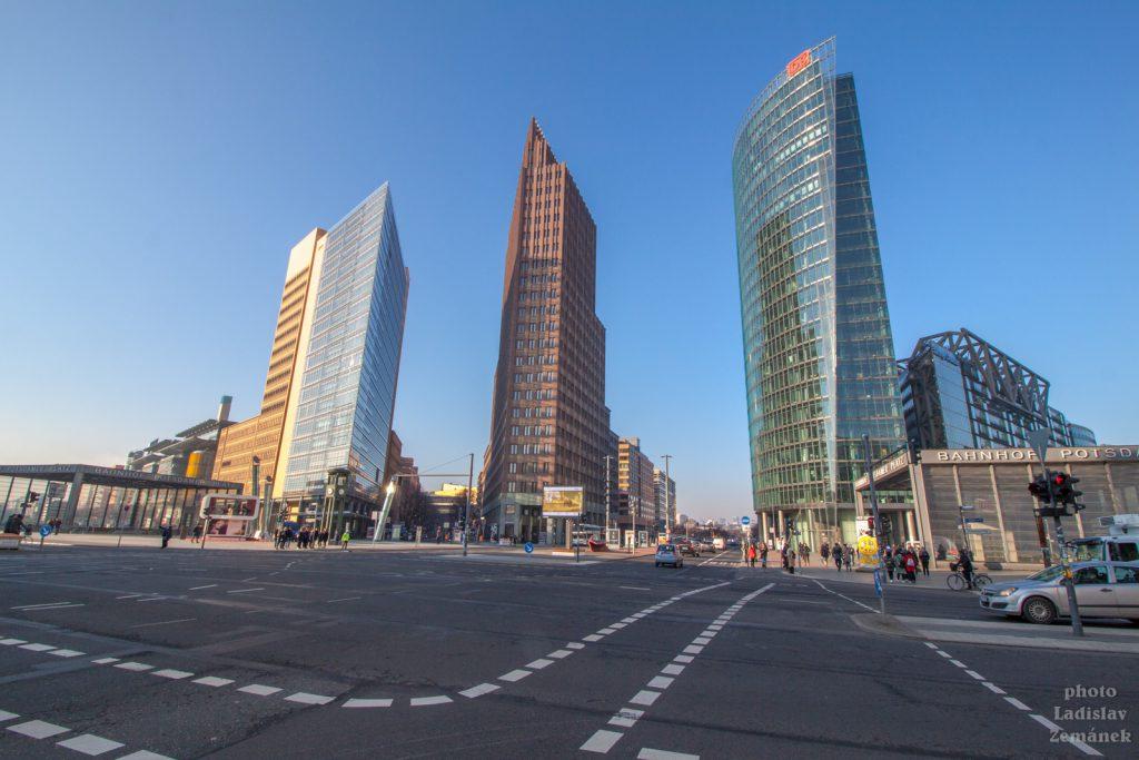 Berlínská zeď - Postupimské náměstí