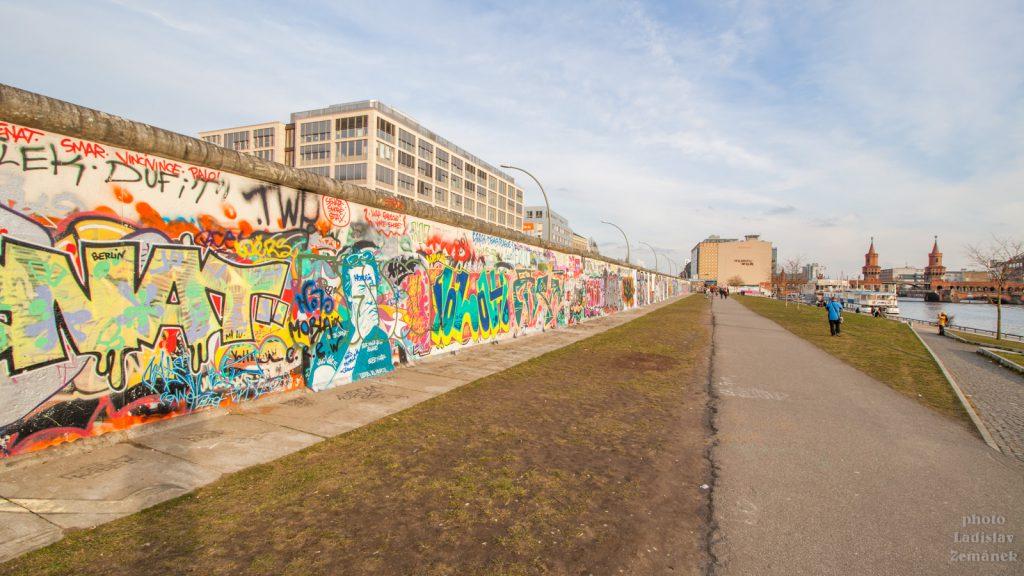 Berlínská zeď - East Side Gallery