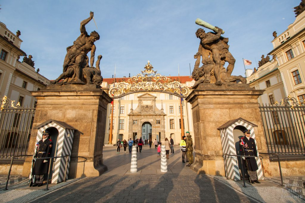Pražský hrad - Souboj Titánů