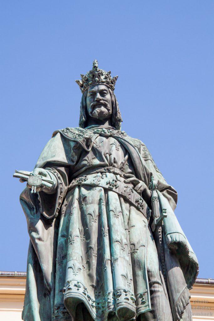 Karel IV. na Křížovnickém náměstí