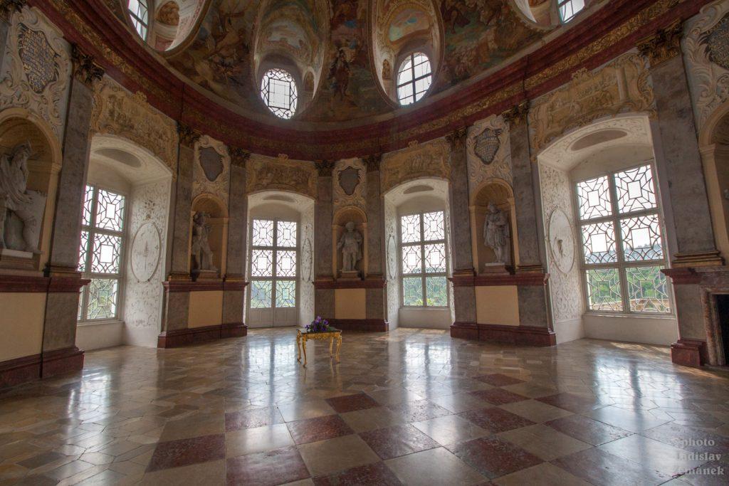 Zámek Vranov nad Dyjí - sál předků