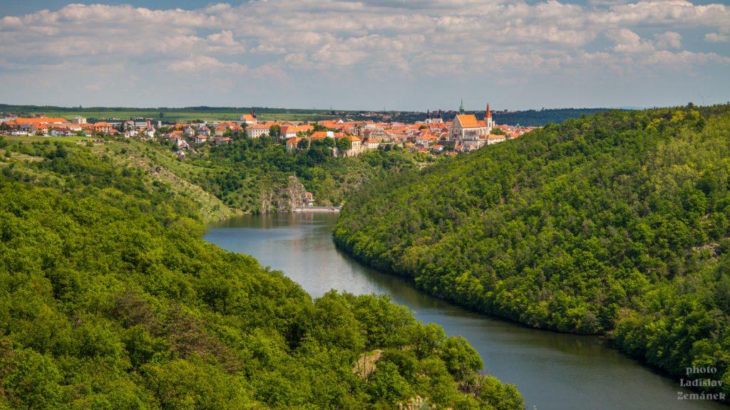 údolí řeky Dyje a Znojmo