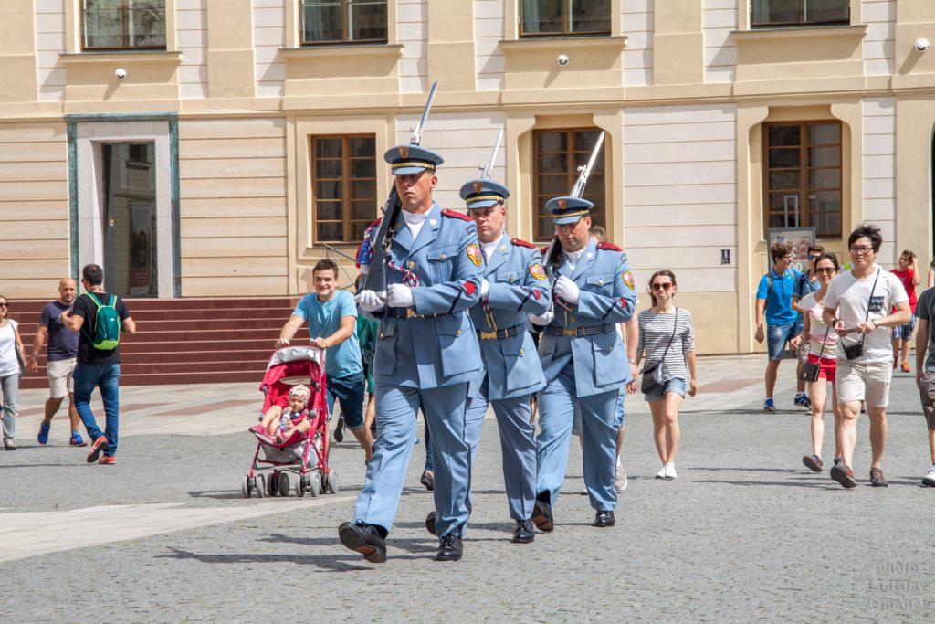 Pražský hrad - hradní stráž