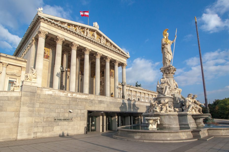 Budova Vídeňského parlamentu