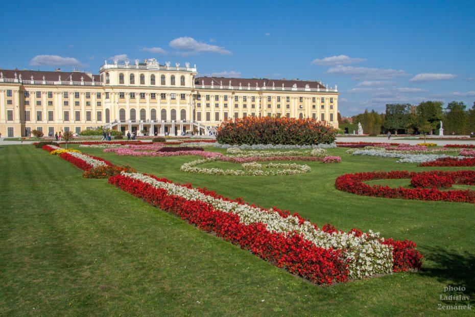 Zámecký park Schönbrunn