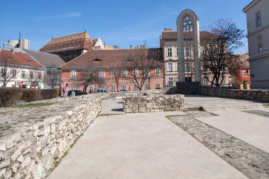Kostel sv. Máří Magdalény - Hradní vrch - Budapešť