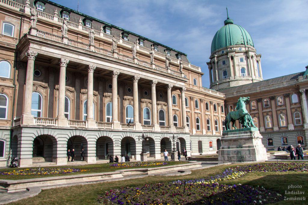 Královský hrad - Budapešť