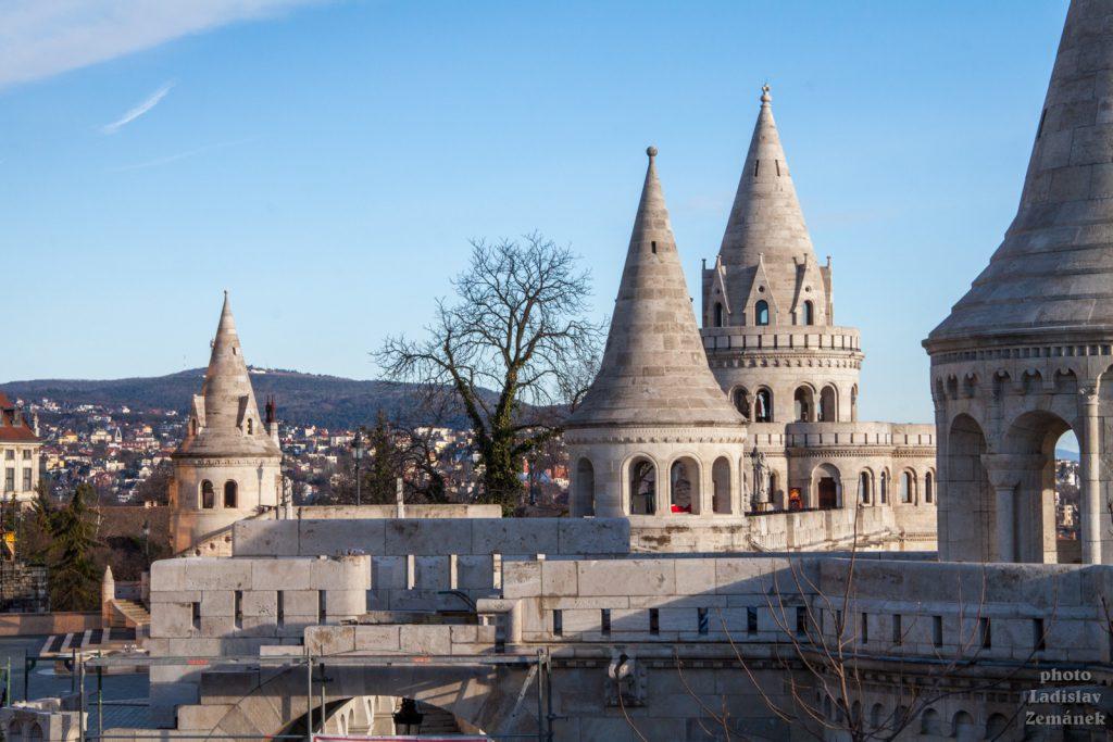 Rybářská bašta - Budapešť - Hradní vrch