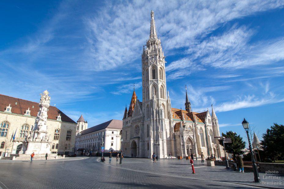 Budapešť - Matyášův chrám