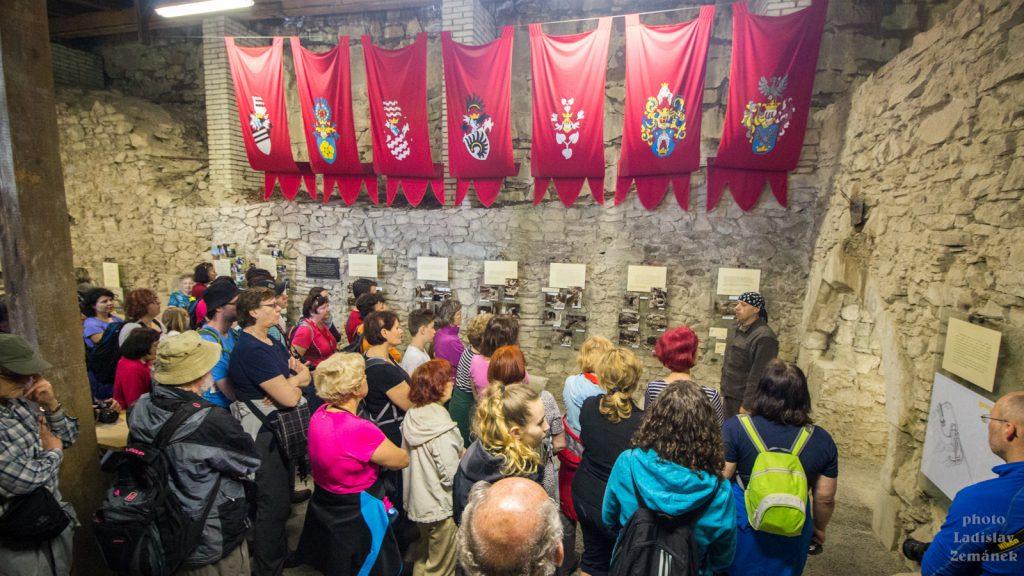 Prohlídka hradu Brumov