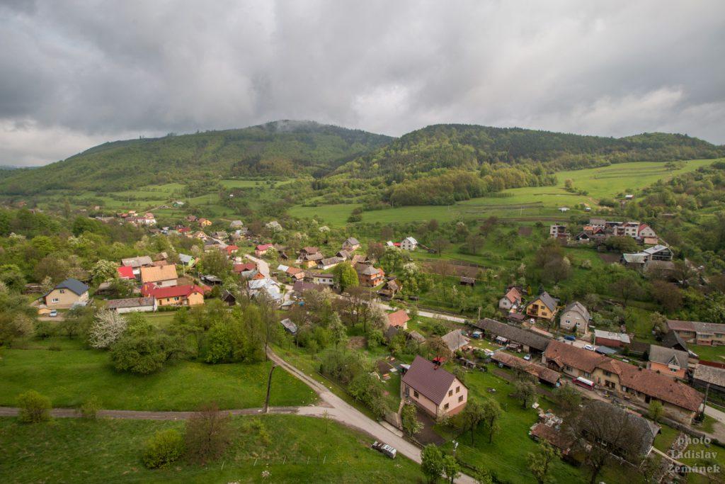 hrad Lednica - výhled