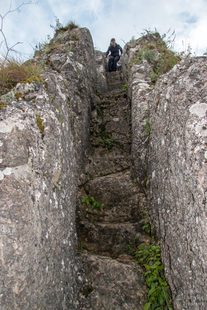 hrad Lednica - vrchol bradla