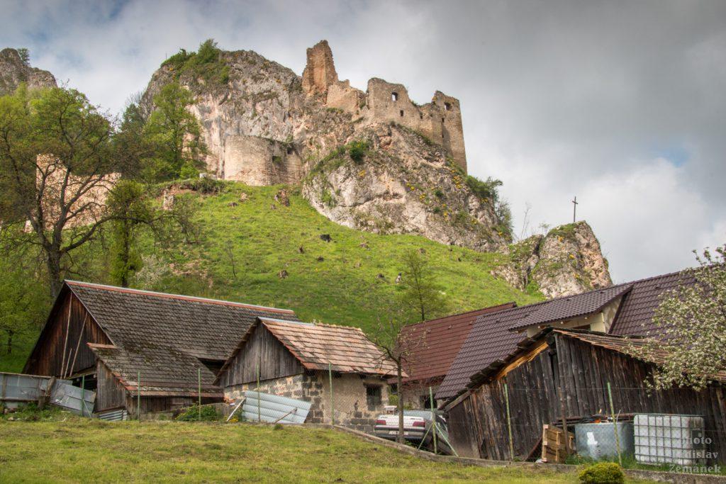 hrad Lednica