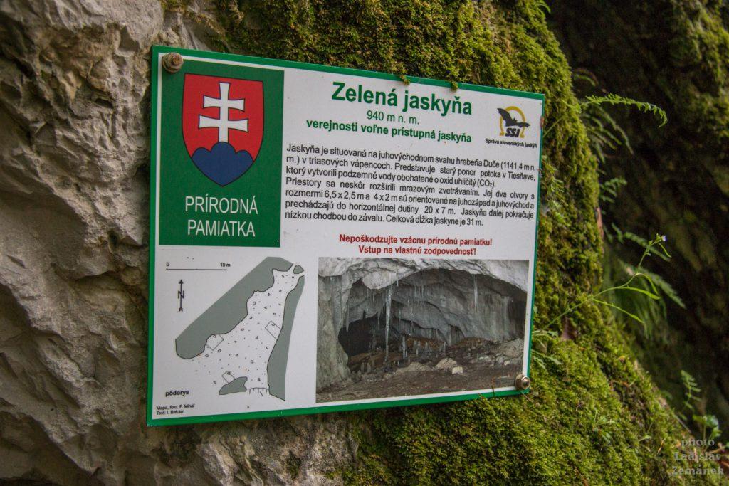 Slovenský ráj - Zelená jaskyňa