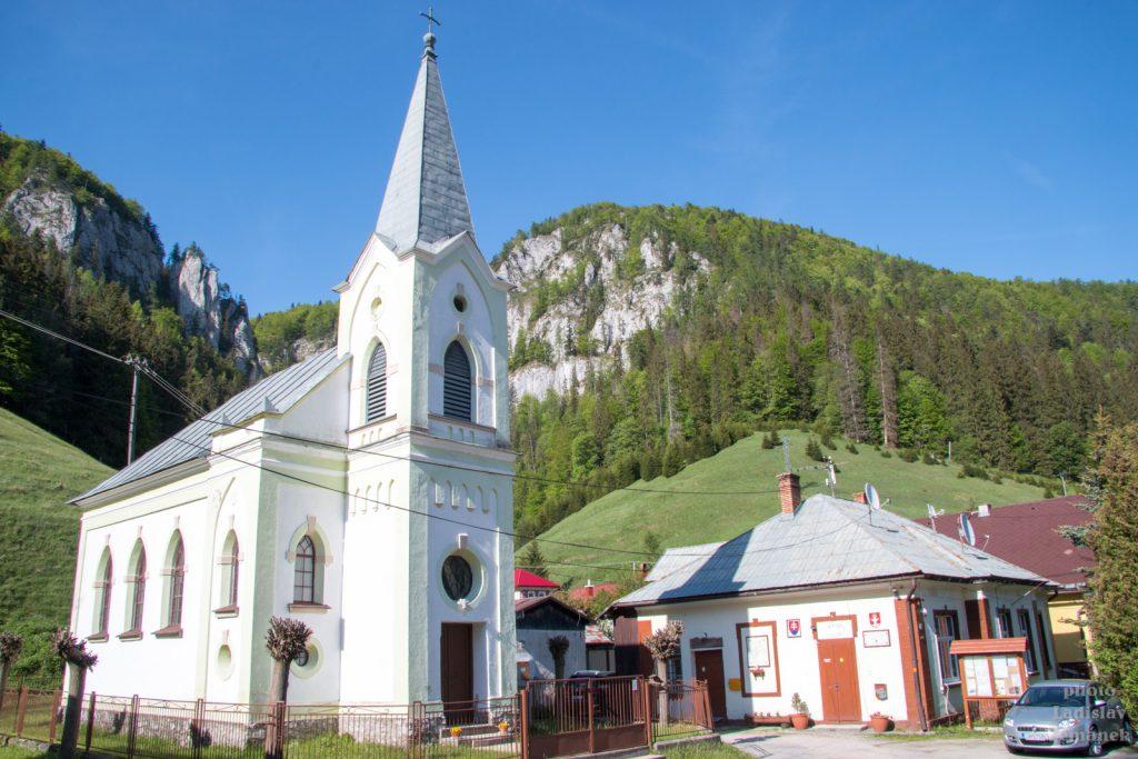 Slovenský ráj - Stratená - kostel