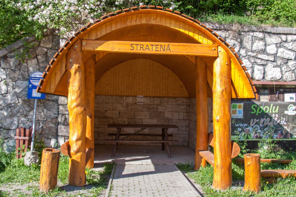 Slovenský ráj - Stratená - zastávka