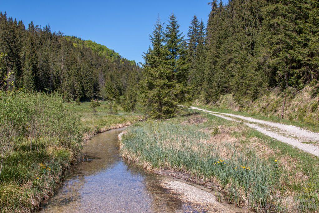 Veľké a Malé Zajfy - Vrábľovksý potok