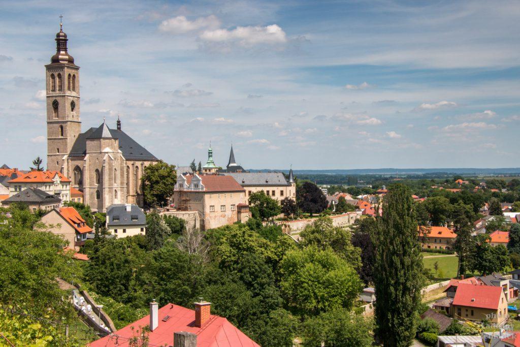 Kutná Hora - výhled na sv. Jakuba