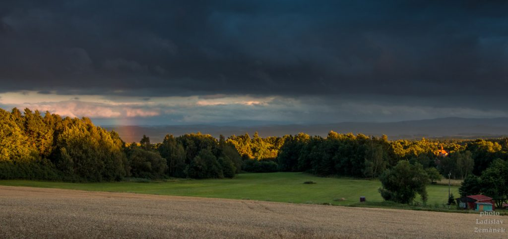 Krajina v okolí Horažďovic