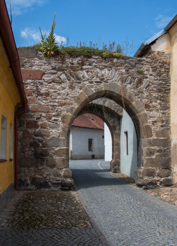Horažďovice - opevnění a Jihovýchodní brána