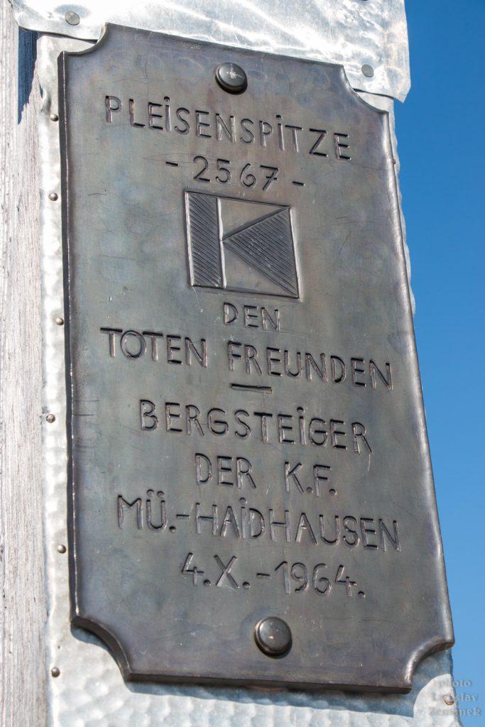 Túra ze Scharnitz na Pleisenspitze