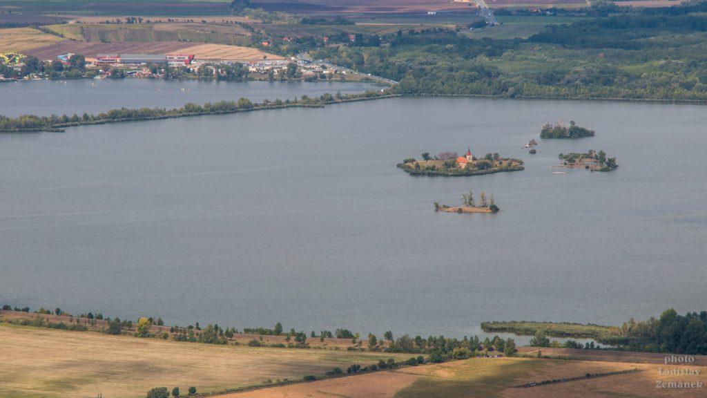 Pálava - Nové Mlýny a Kostel sv. Linharta
