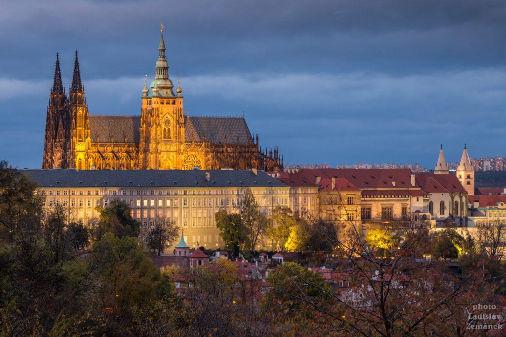 Pražský hrad - večer