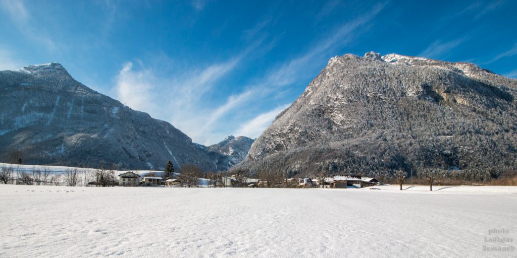 Golling a údolí Bluntautall