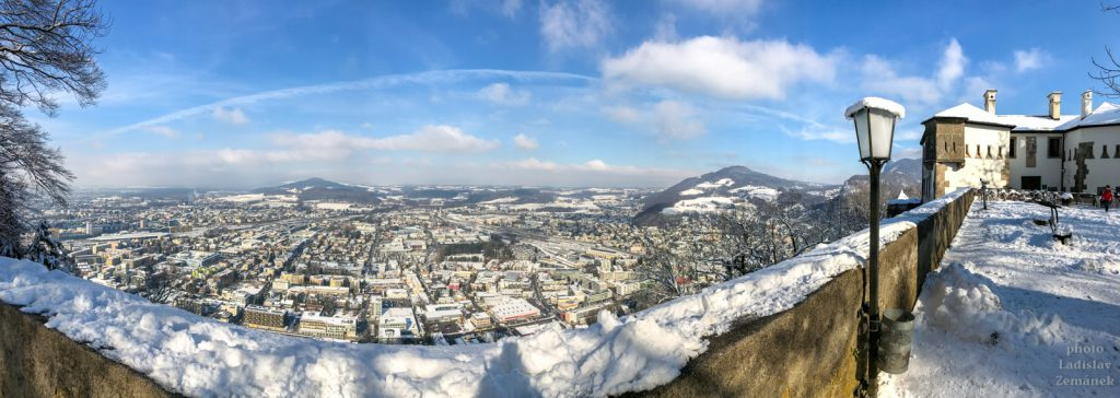 Salzburg - Kapuzinerberg - výhled