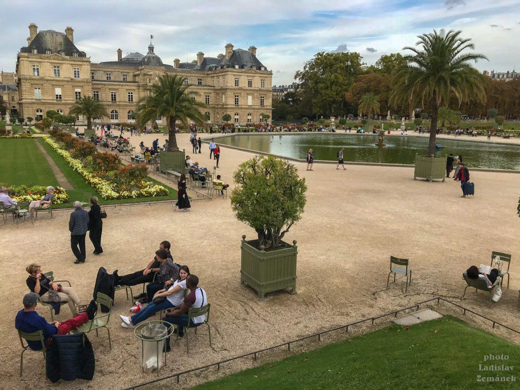 Jardin du Luxembourg (Lucemburská zahrada)