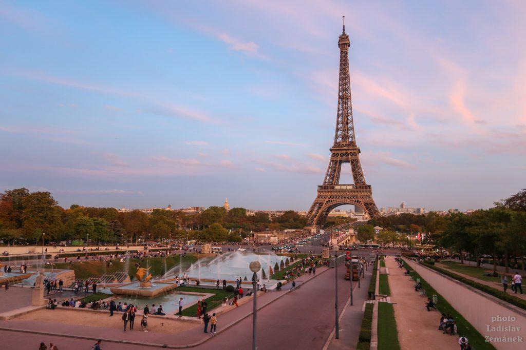 Trocadero a Eiffelova věž