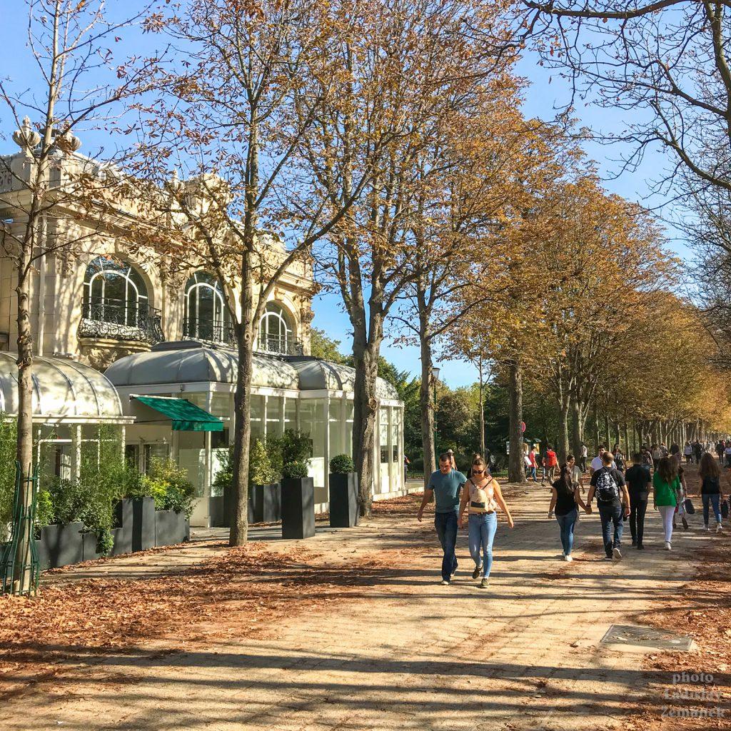 Champs-Élysées - promenáda