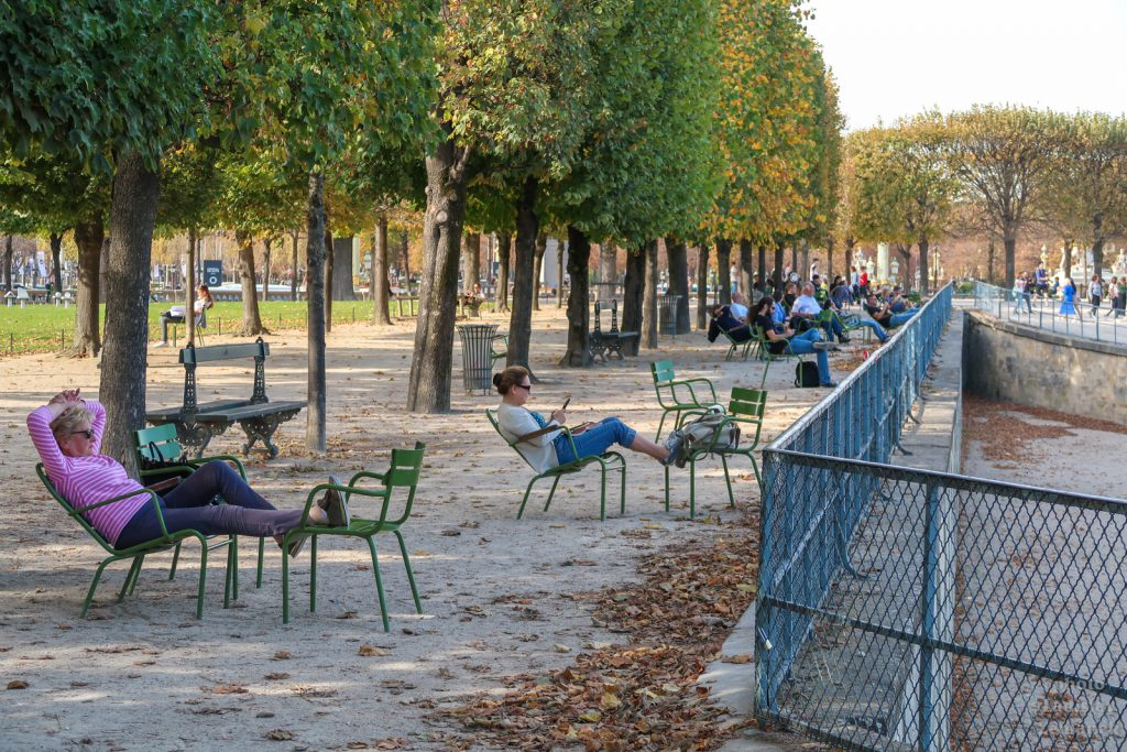 zahrady Jardin des Tuileries