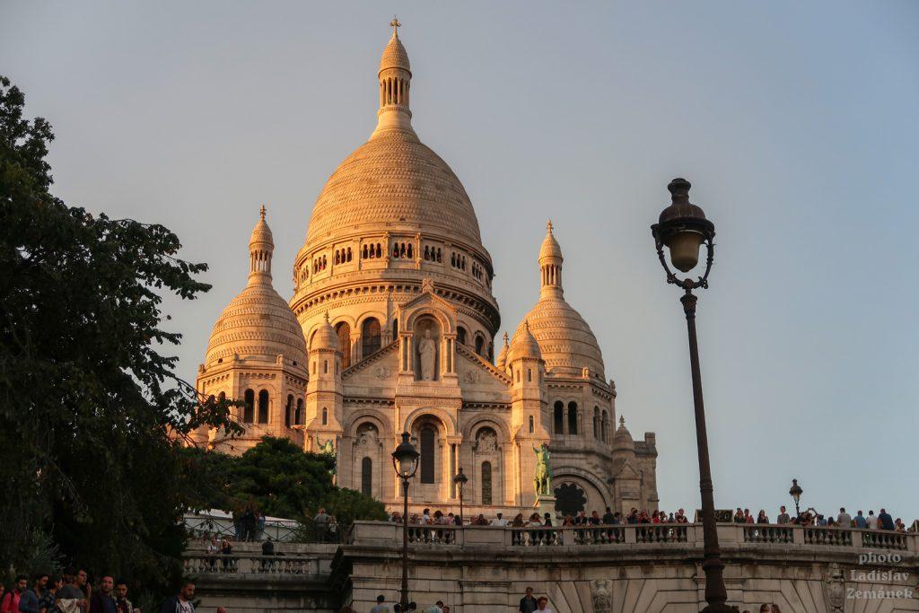 Paříž - Montmartre - bazilika Sacre-Coeur