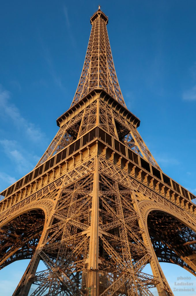 Eiffelova věž - detail