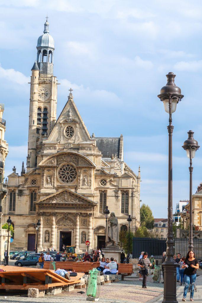 Kostel Saint-Étienne-du-Mont