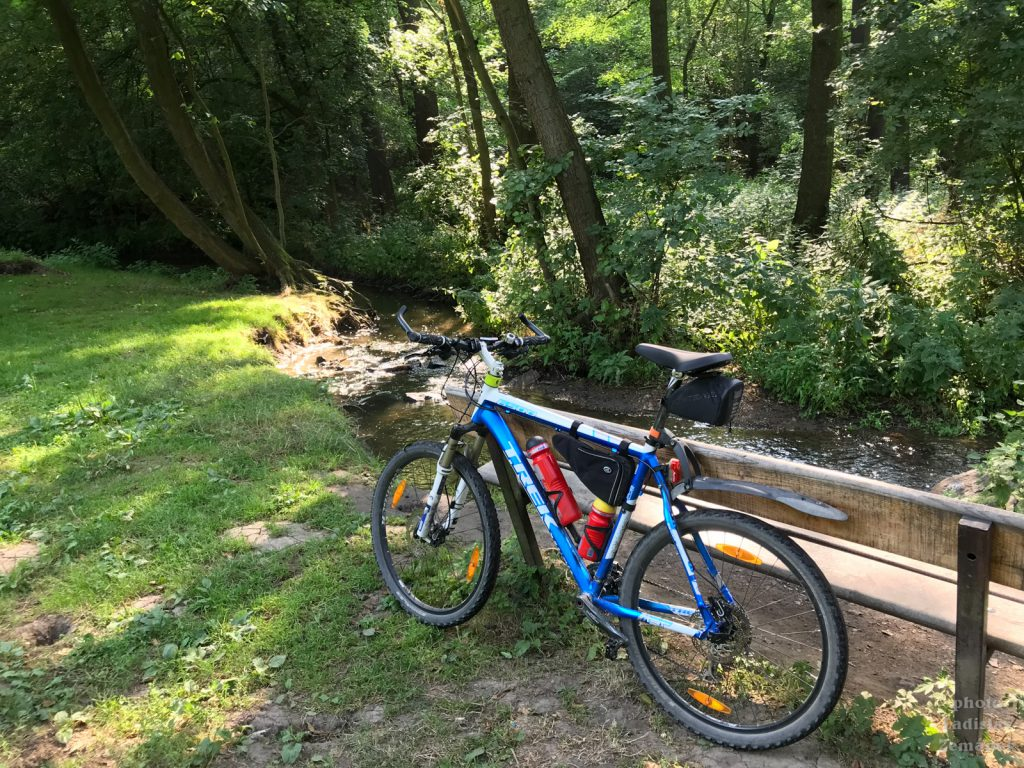 Divoká Šárka na kole