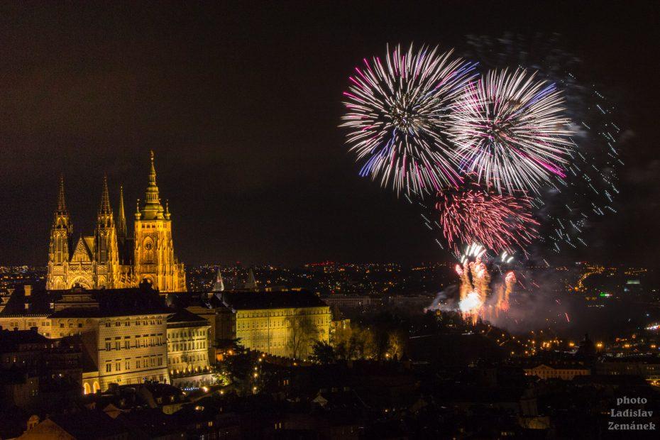 Ohňostroj - Praha