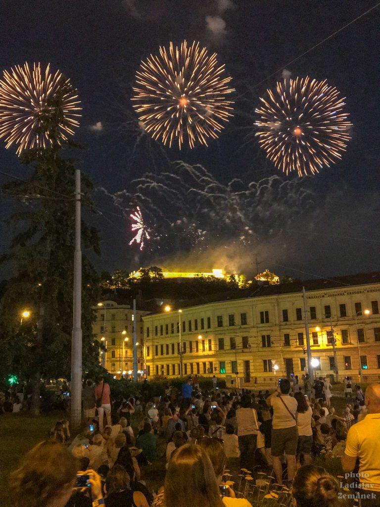 Ohňostroj - Brno - Ignis Brunensis