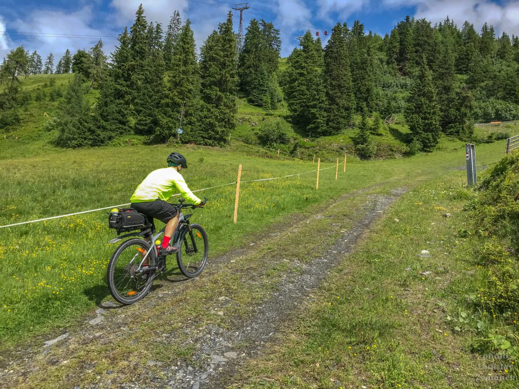 Fulseck na kole - horské kolo